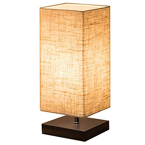 Bedside Table Lamp Shine Hai Minimalist Solid Wood Simple
