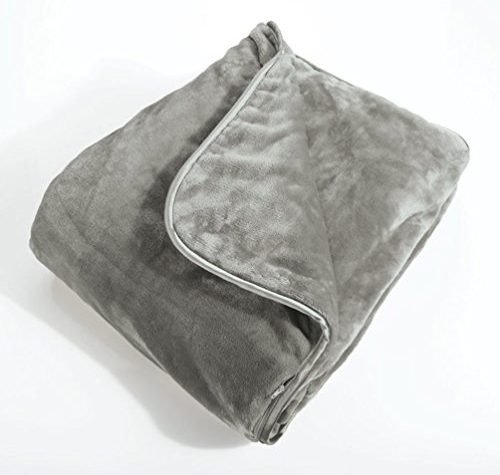 Brookstone Nap Weighted Blanket One Size Grey